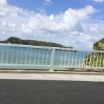 古宇利島への橋からの風景①