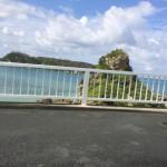 古宇利島への橋からの風景②