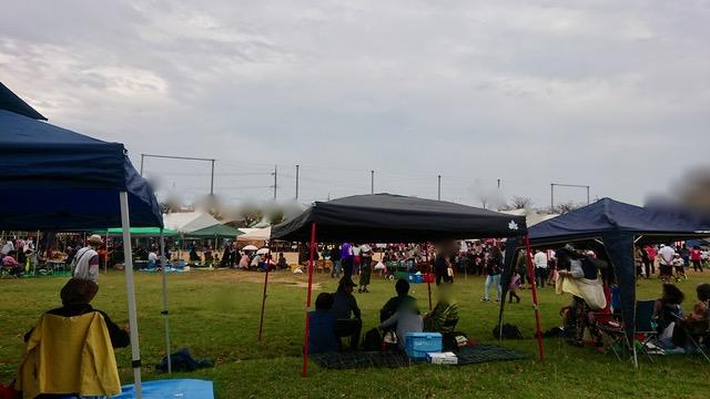 沖縄のテント