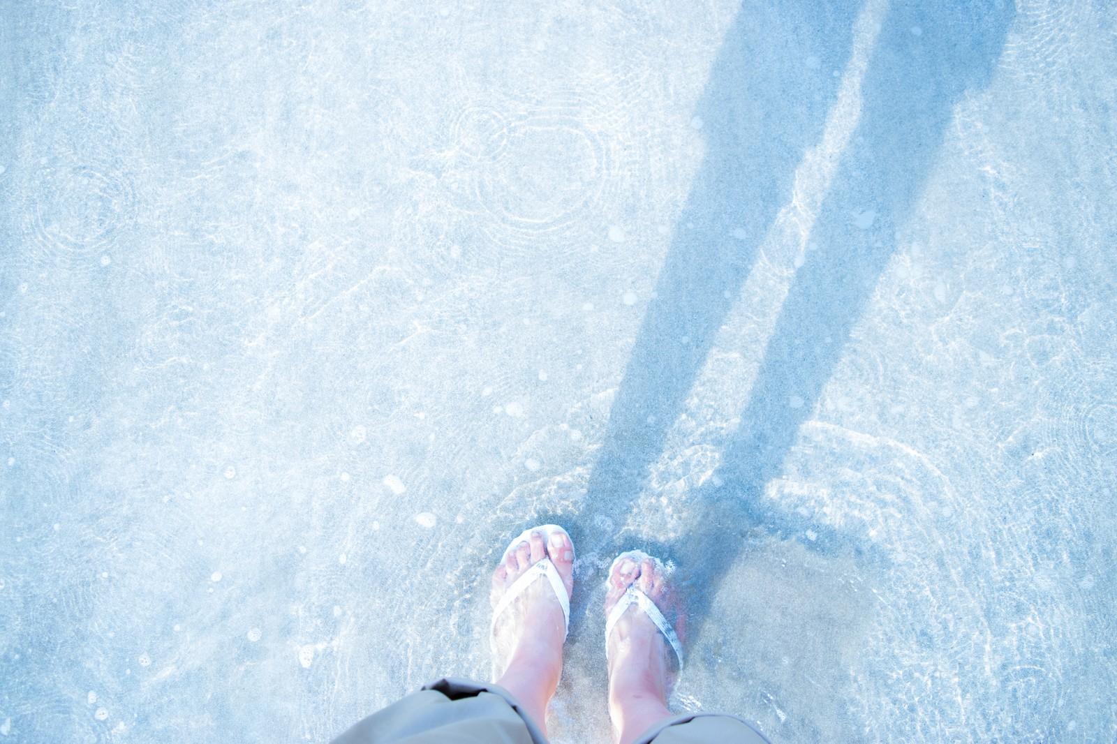 サンダル 沖縄 ビーチ